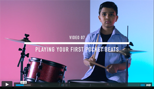 Video 07 - Playing Your First Pocket Beats